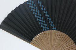 画像2: 市松模様(黒)