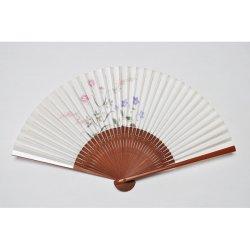 画像1: <琳風扇>桔梗撫子図