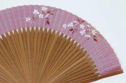 画像2: <琳風扇> 手描き 桜花図
